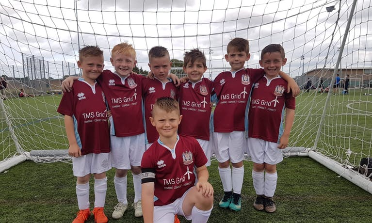 South Shields Under 8s Football Team