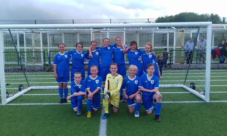 Billingham Juniors FC Under 12 Lionesses