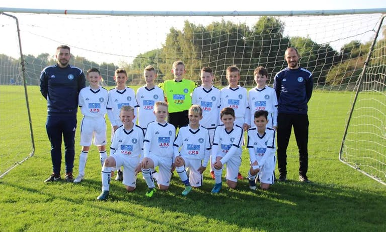 Marton Whites U12s Football Team