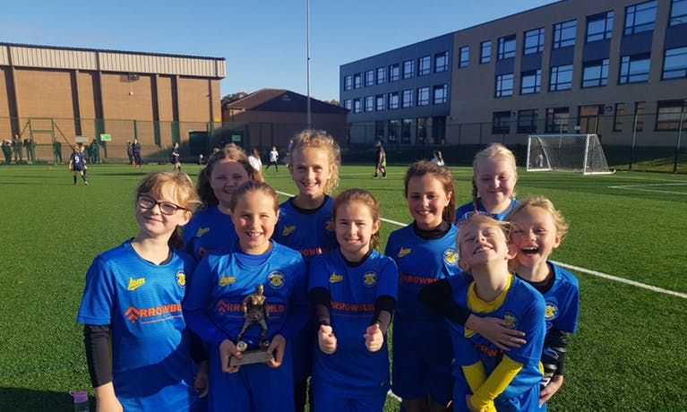 Stockton Town FC girls U10