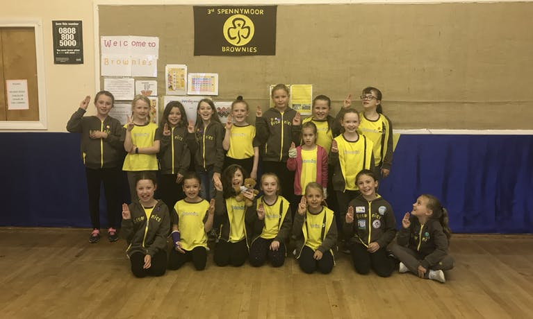 3rd Spennymoor Brownies
