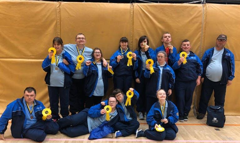 Skelton Cleveland Special Olympics Boccia Club