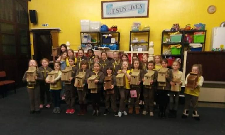 4th Norton Rainbows and Brownies