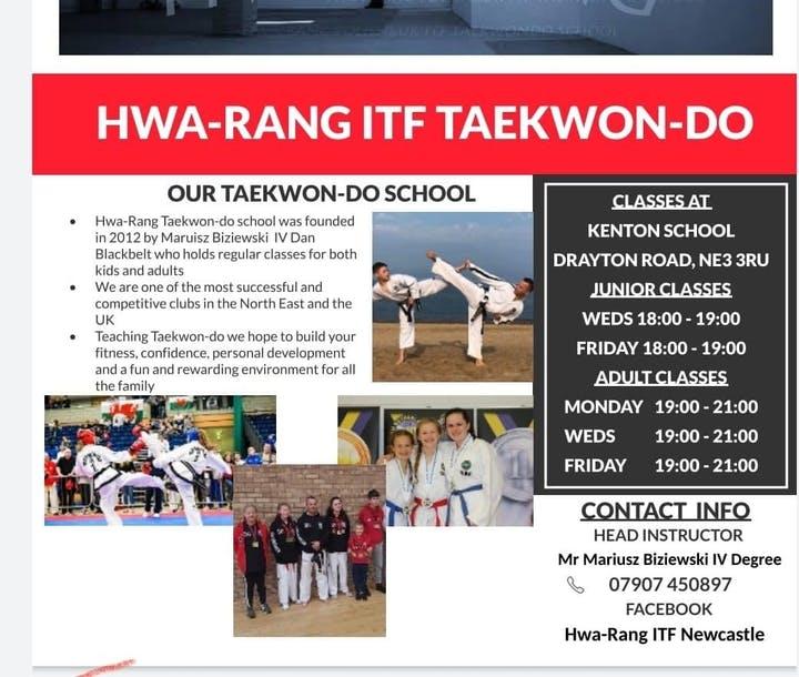 Hwa-rang ITF Taekwondo Newcastle